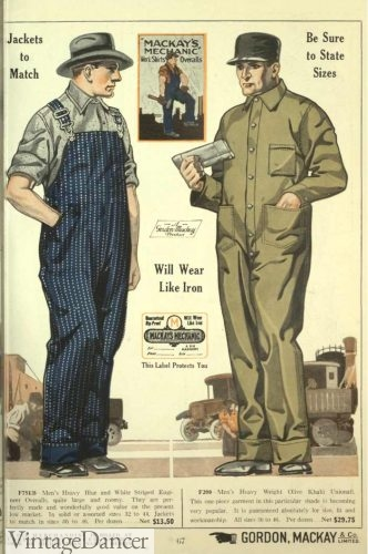 1922 Men's plain Unionall / Coverall