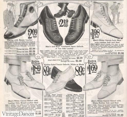 1922 mens canvas sport shoes