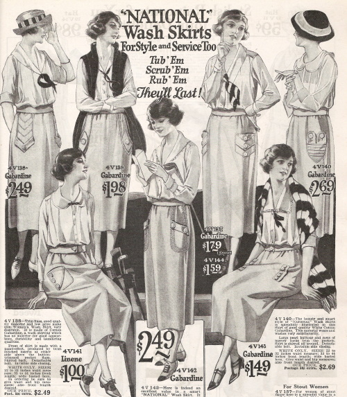 1922 white summer skirts