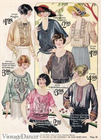 1922 Spring Blouses