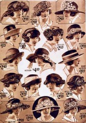 Vintage Hats from the 1920s-1950s