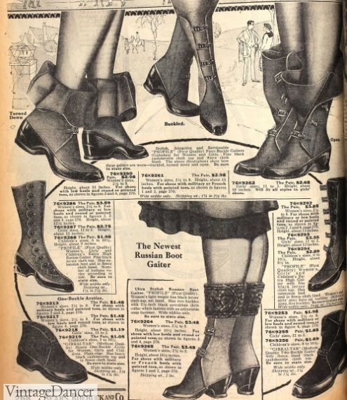 1922 galoshes/ attics rain and snow boots