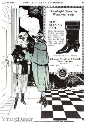 1922 Russian boot ad