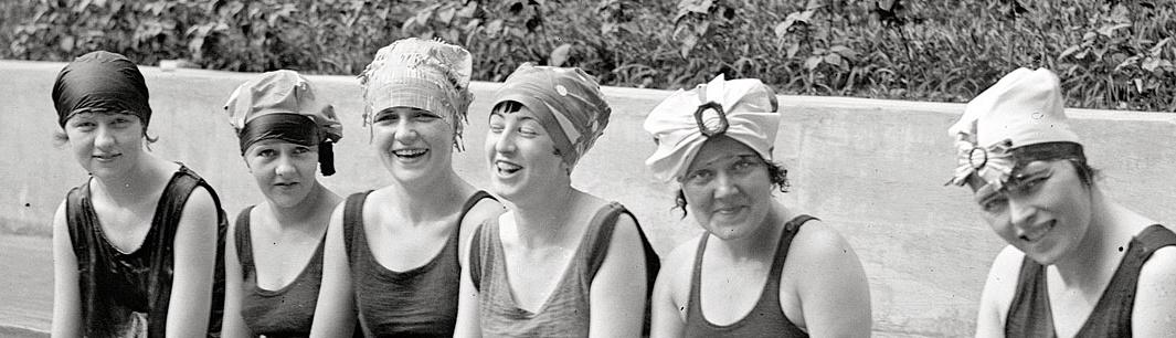 1922 swimcaps