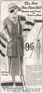 1920s womens suit travel