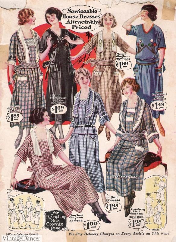 1920s day dresses