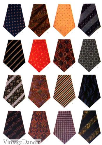 1924 mens ties patterns