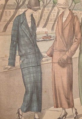1920s Women's Suits for Travel, Work, & Leisure