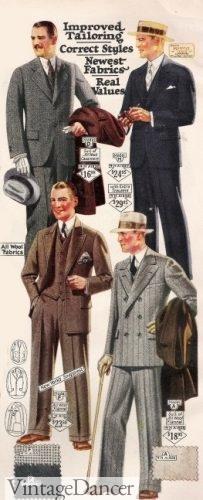 1926 men's suits, Peaky Blinders season 4 men's fashion