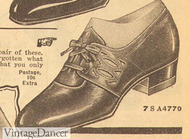 1926 semi dressy oxford