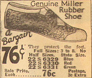 1926 all rubber swim shoes 1920s beach shoes swimwear watershoes 1920s