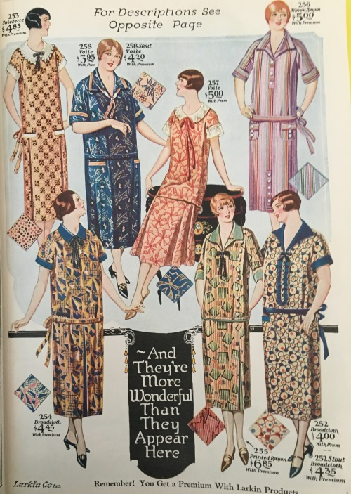 1926 house ro day dresses? Very hard to tell the difference!