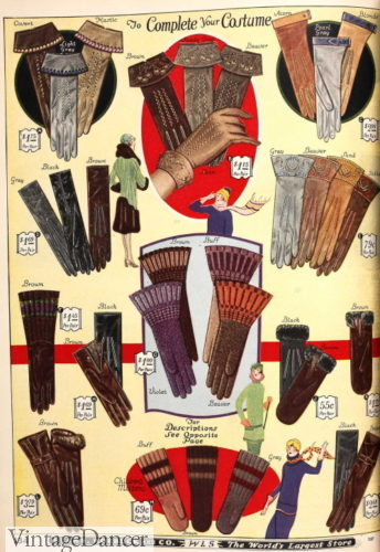 1926 gloves and mittens