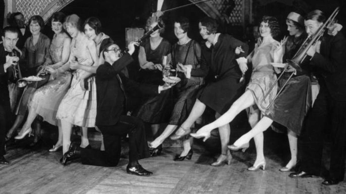 1926 Parody club- Entrants in the Charleston dance competition
