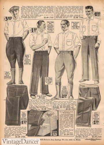 1920s mnes hiking clothes