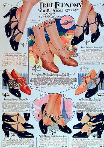 1929 heels shoes