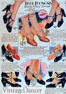 1920s womens shoes