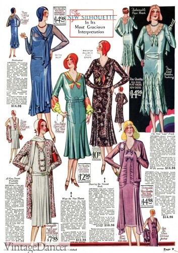 1930s dresses fashion floral