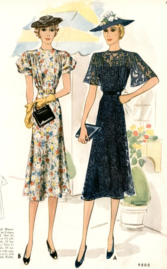 1940s fashion history for women and men
