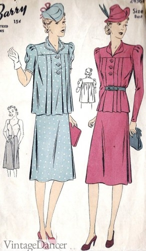 1930s maternity clothes