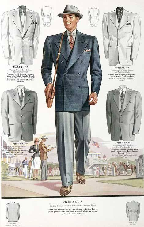 1930s Mens Fashion Guide What Did Men Wear