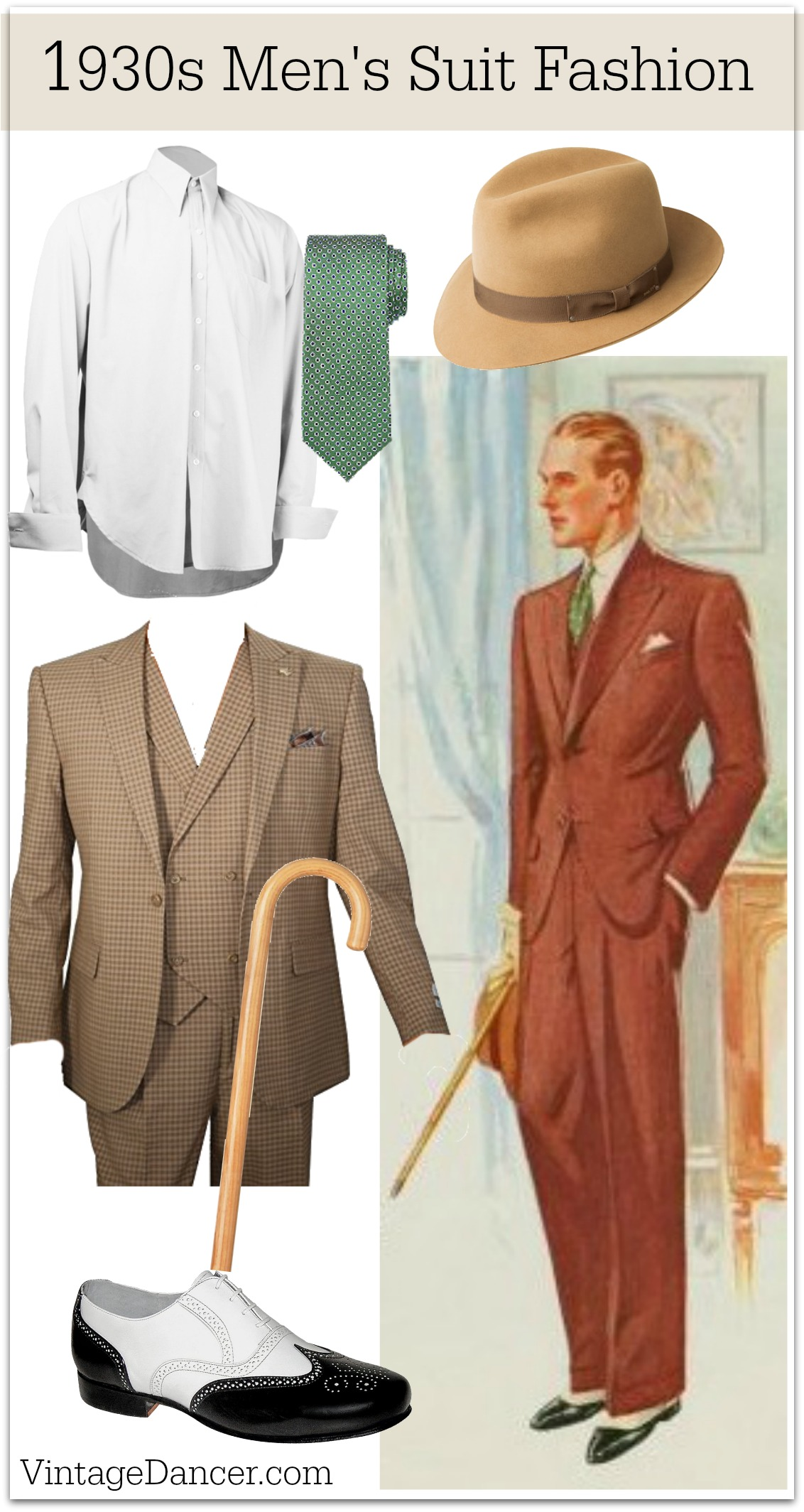 1930s Menswear Outfit Amp Clothing Ideas