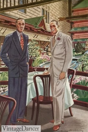 1930s Men's Summer Suits