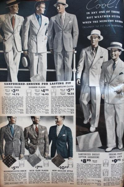 The men's 1930s Palm Beach look, white on white