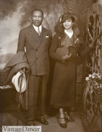 930s Black Fashion, African American Clothing Photos