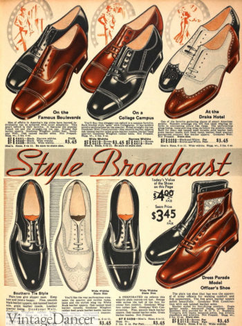 1934 men's basic shoes and boots