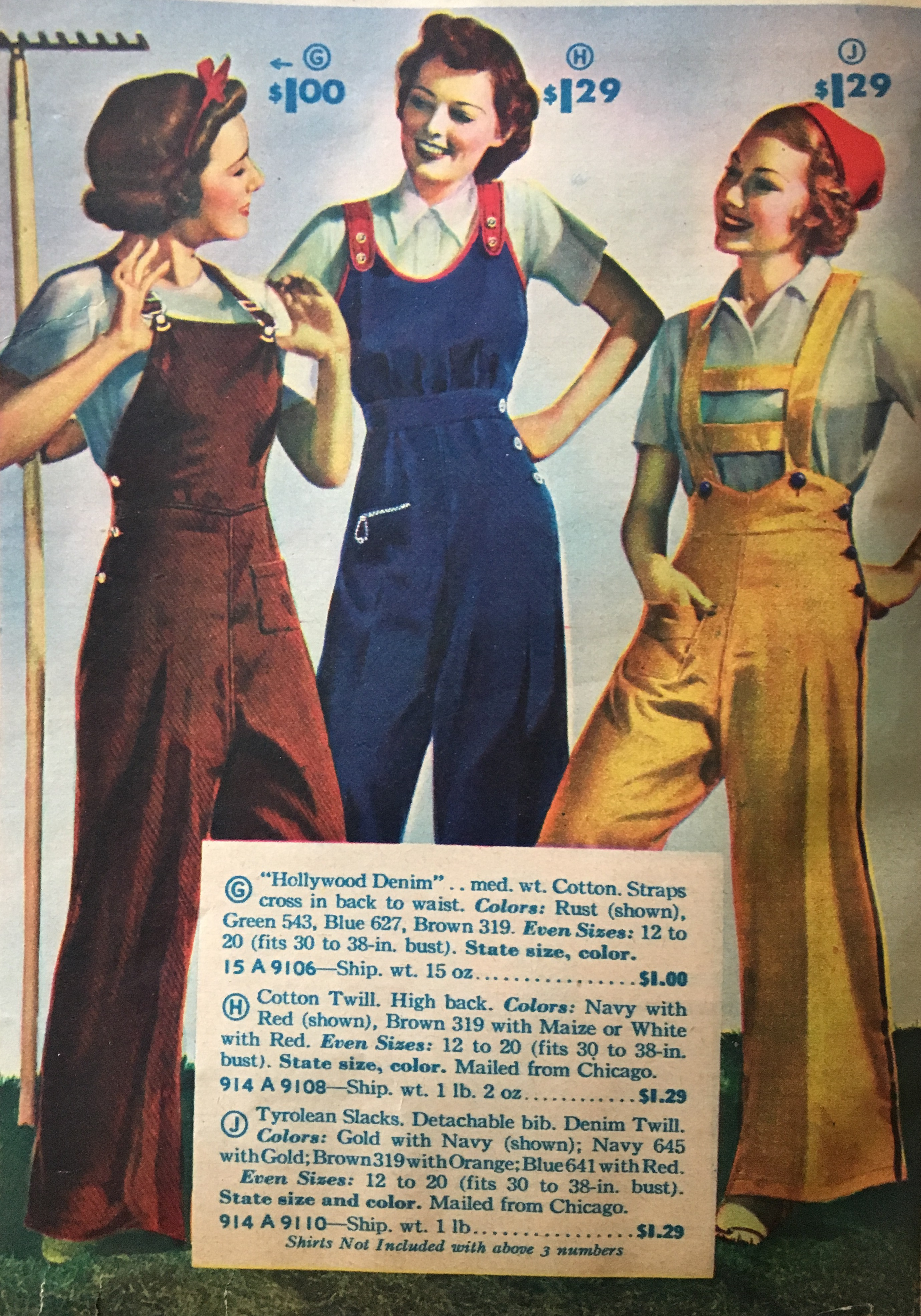 835342c372b1 Vintage Overalls 1910s -1950s History   Shop Overalls