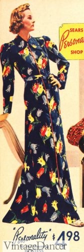 1937 hostess housedress
