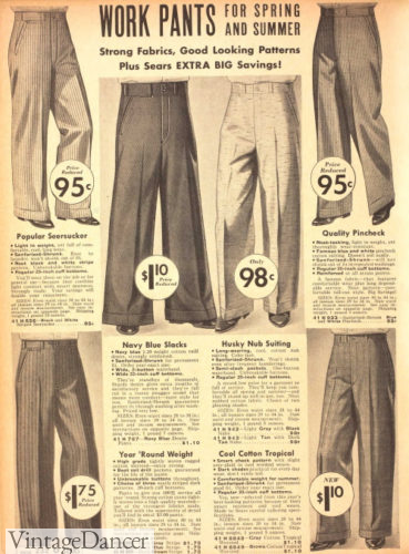 1938 mens work trousers