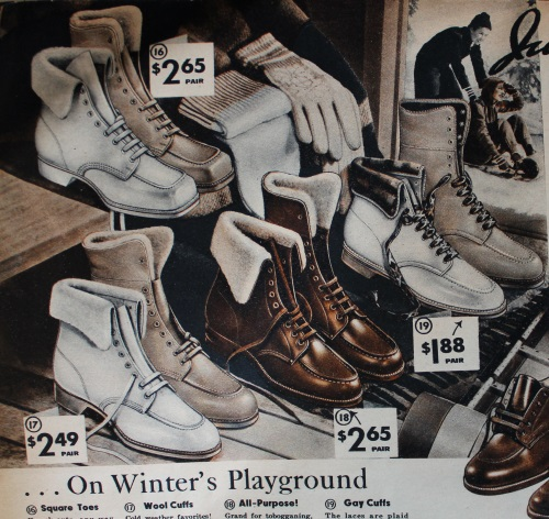 Vintage Boots- Winter Rain and Snow Boots History