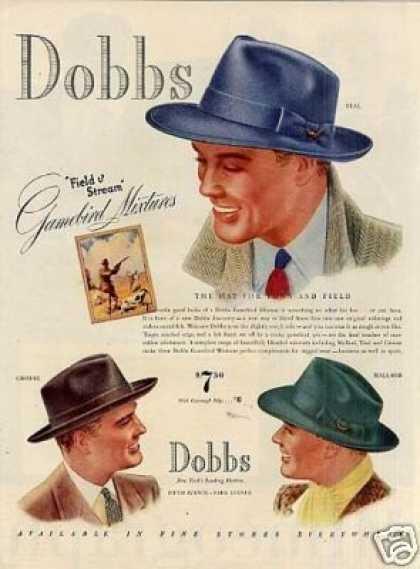 1930s Men's Hat Fashion