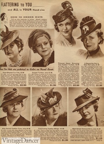 1940s hats for plus sizes
