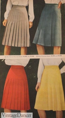 1947 spring color skirts