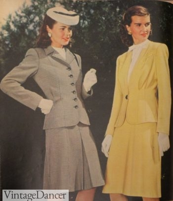 Women's 1940s Victory Suits and Utility Suits