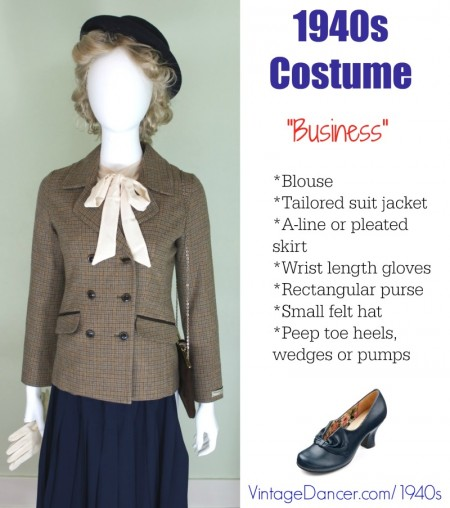 1940s Costume & Outfit Ideas - 16 Women's Looks - photo #14