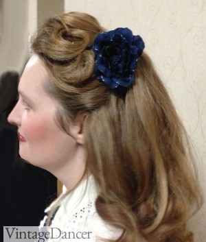 1930s And 1940s Hairstyles For Long Hair
