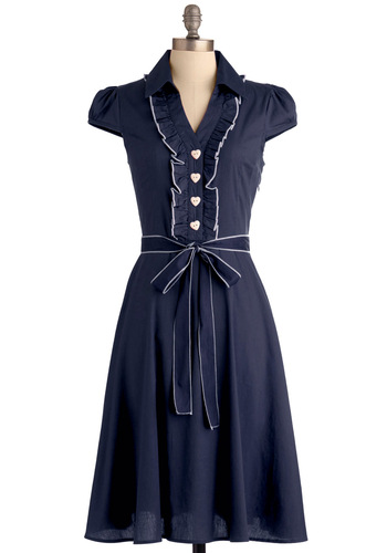 1940s petite dress about the artist modcloth best seller