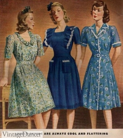 1940s sheer dresses crop