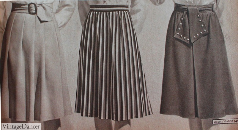 forties skirts