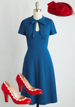Vintage style clothing, shoes and accessories at Modcloth- Plus sizes too.