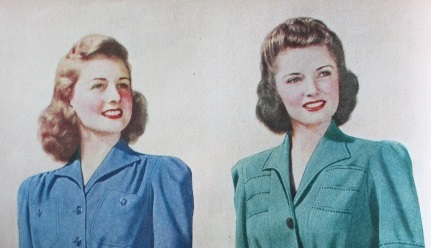 shoulder length hair styles 1940s hairstyles history of s hairstyles 4813