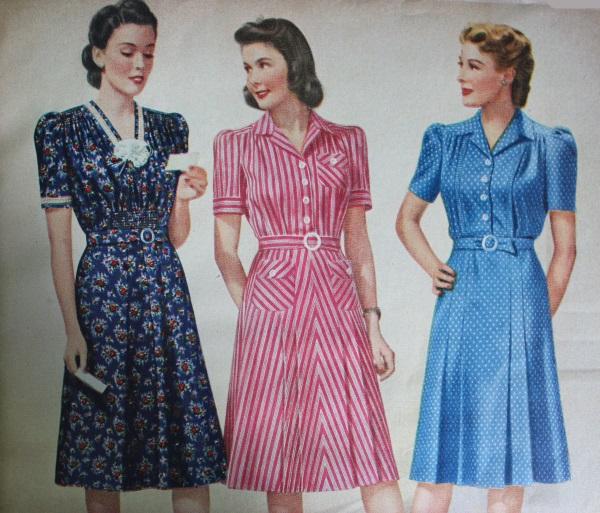 1940s Dress Styles