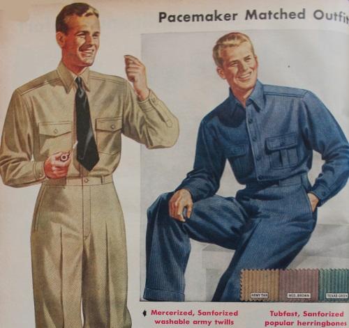 1940s Men's Work Clothes