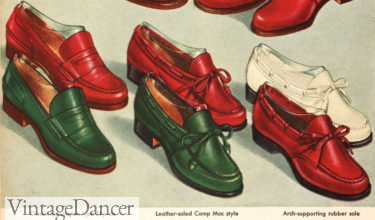 1943 summertime loafers and mocs