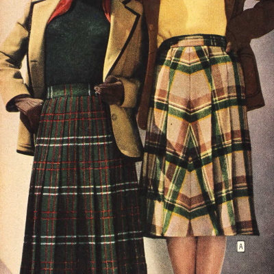 1940s Fall Winter Casual Outfits