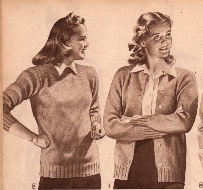 1944 Teen Sweaters